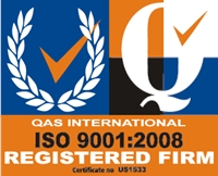 ISO 9001 QAS International Certificate